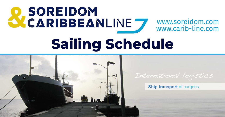 Caribbean Line Sailing Schedule