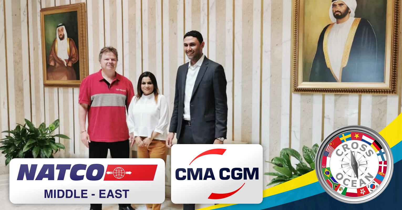 Cross-Ocean-Chairman-met-with-NATCO-and-CMA-CGM-in-Dubai