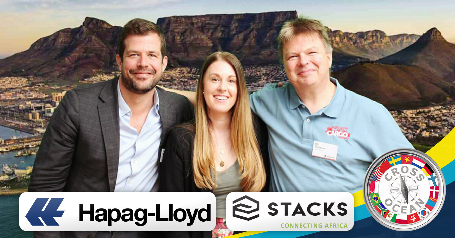 Cross Ocean and STACKS joining Hapag-Lloyd's event in Cape Town, South Africa