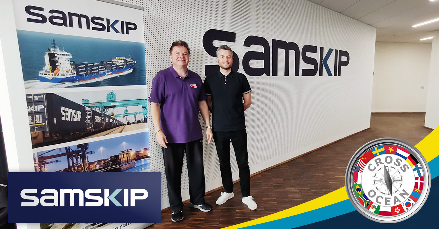 CO-and-member-in-DenmarkIceland-Samskip-at-Aarhus,-Denmark-today