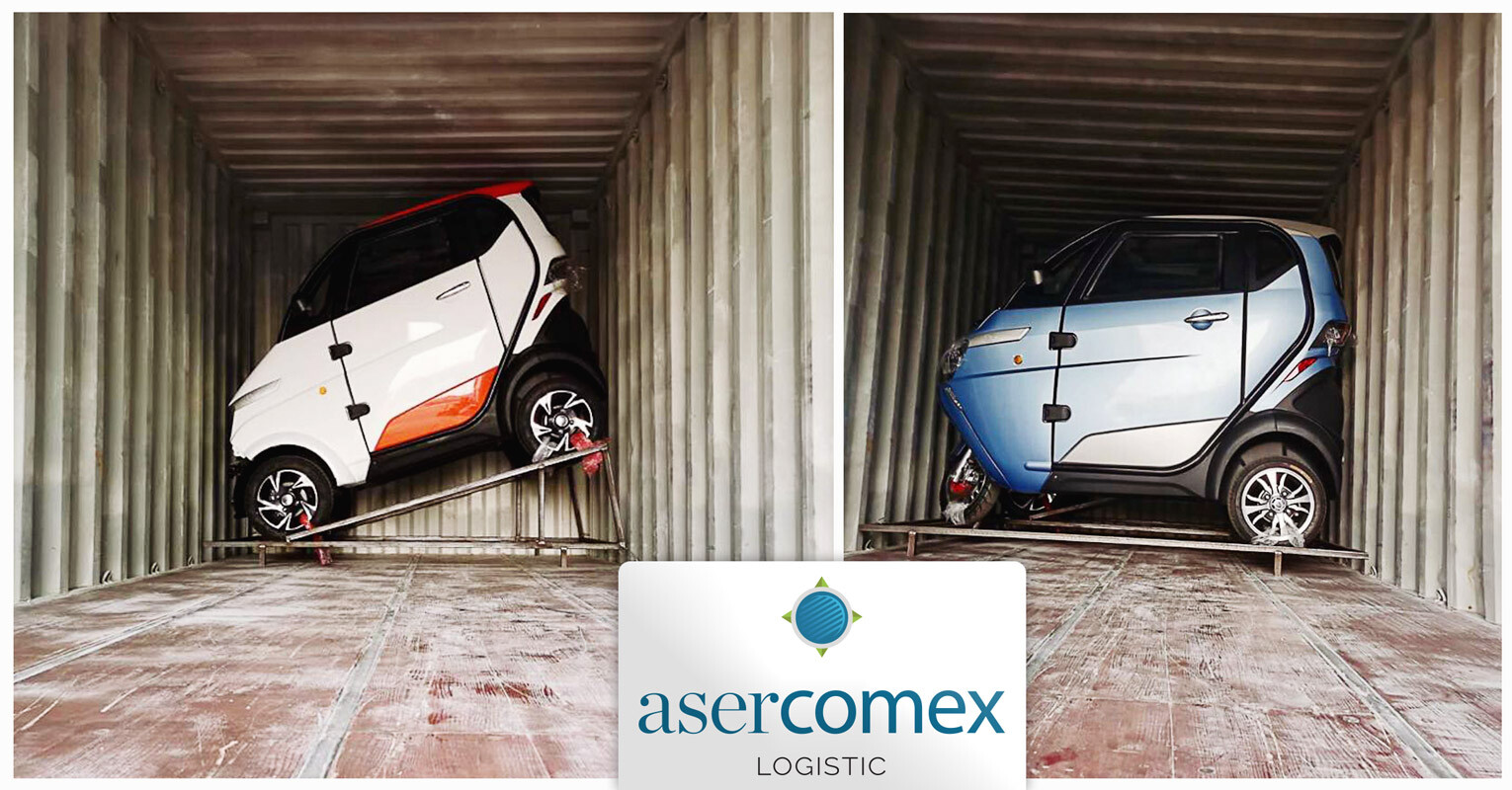 Asercomex is Handling New 100% Electric Cars for Europe