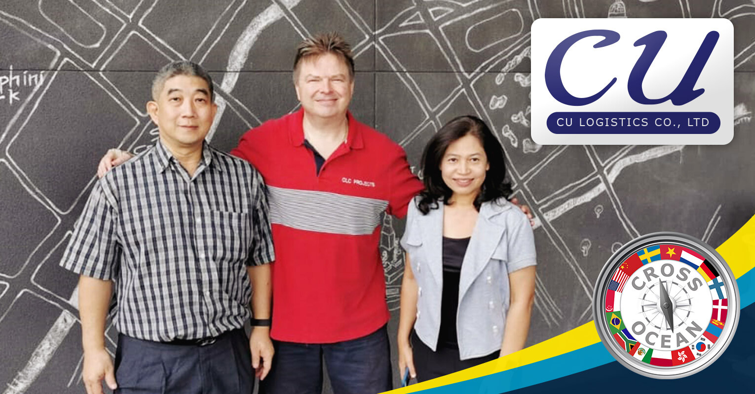 Cross Ocean met with CU Logistics in Bangkok, Thailand