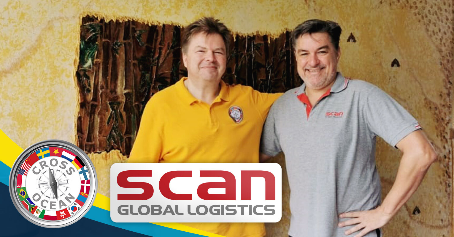 Scan Global Logistics Thailand and Cross Ocean met in Bangkok