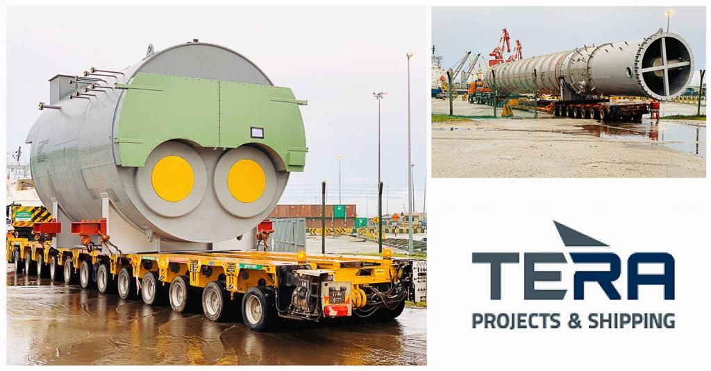 Tera Projects Handled 42m Length Cargo