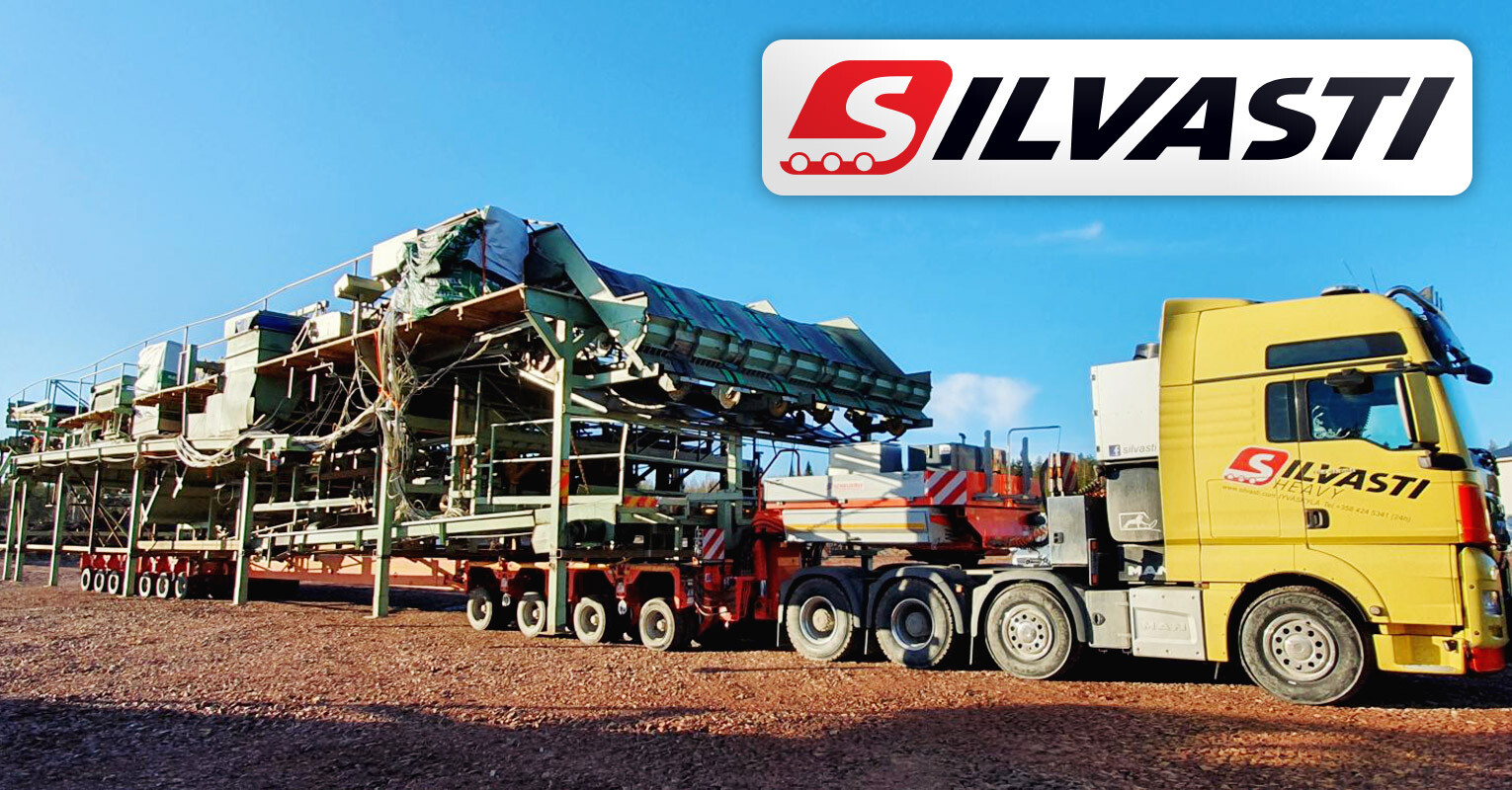 Silvasti Successfully Moved Conveyors 30m x ~9m x 5m Weighing 50-100 tons