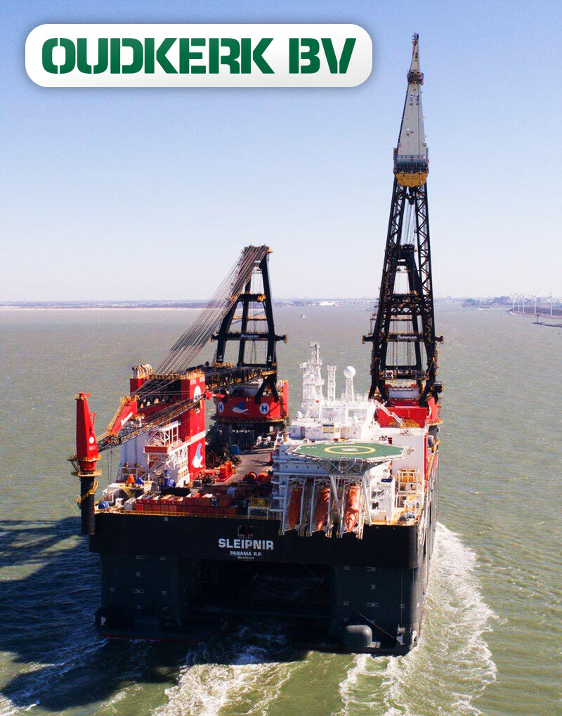 Oudkerk BV is Proud to Act as Ship Agent and Logistical Service Provider for Heerema Marine Contractors for Over 50 Years