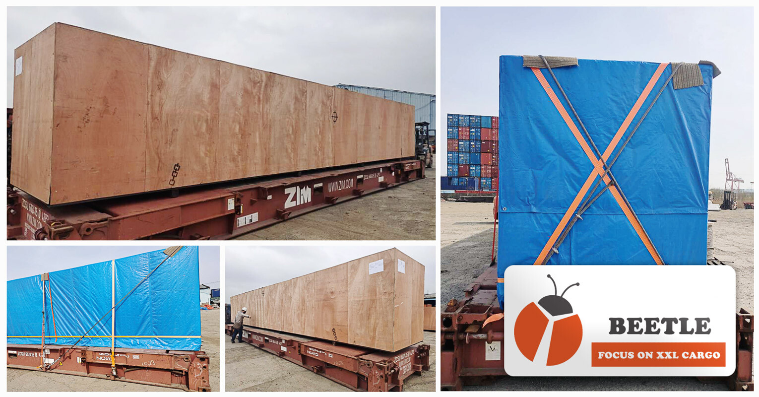 Shanghai Beetle had Done Overlength Shipment from Shanghai to Odessa