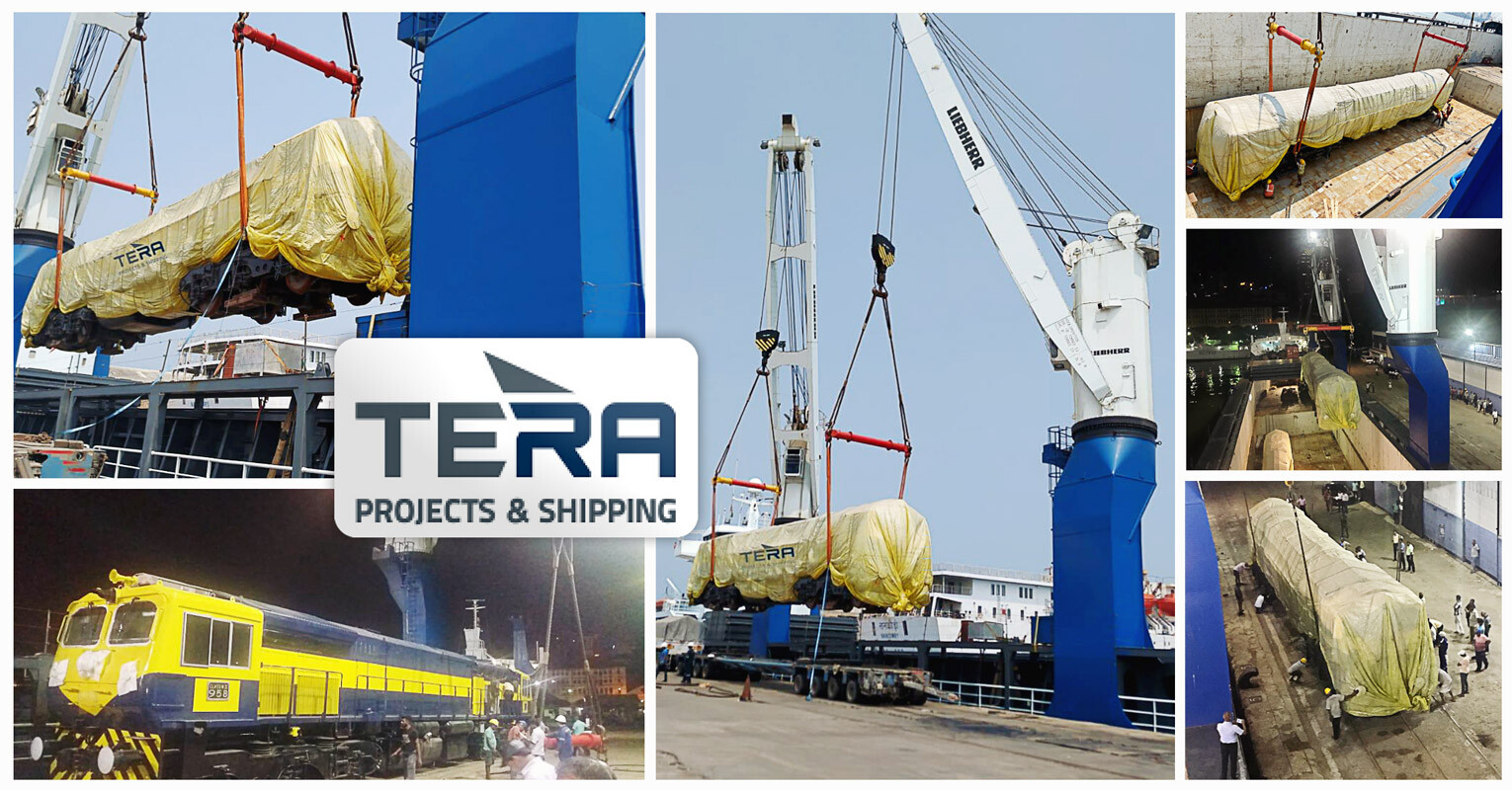 Tera Projects India Executed a Shipment of Locomotives