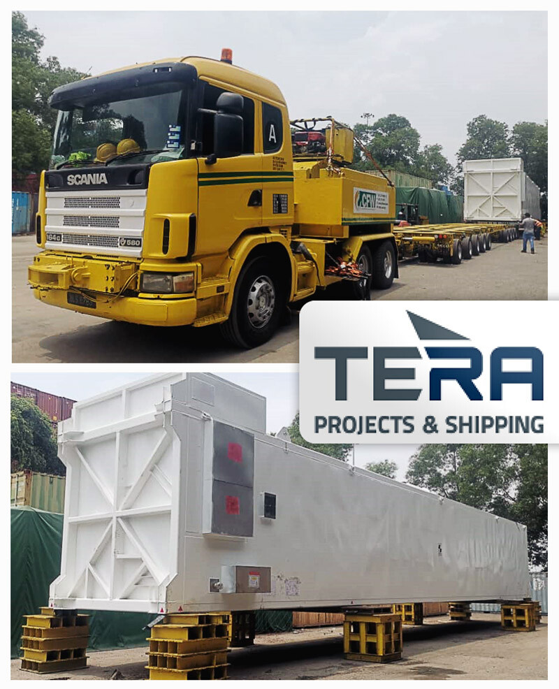 Tera Projects Transported This Cold Box to Muar