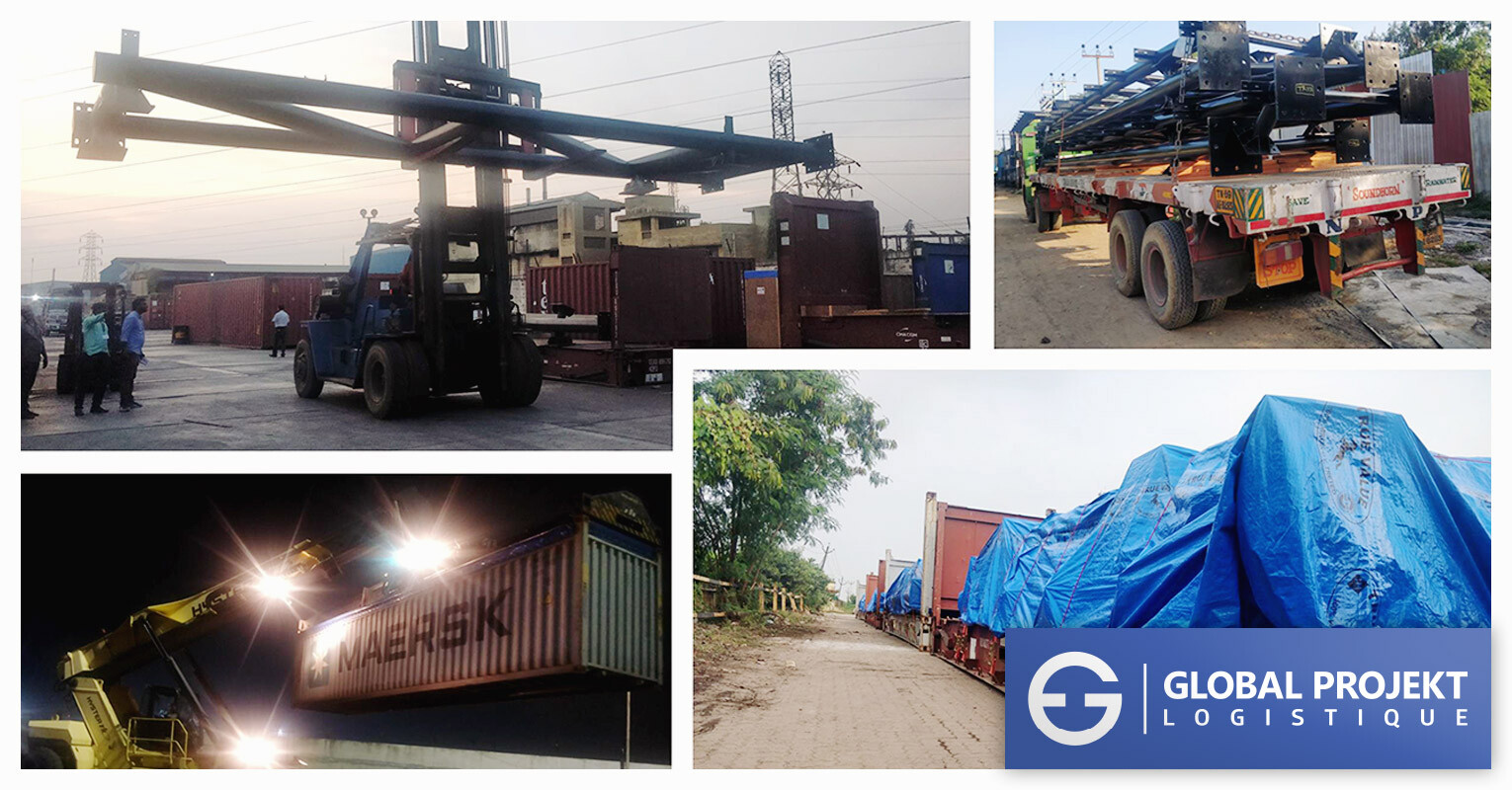 Global Projekt Lgistique Recently Shipped Apapa for a Roof Top Project for Nigeria 2