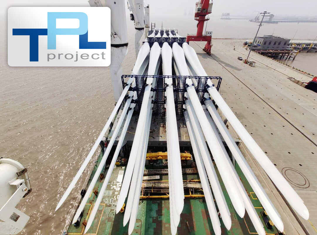 TPL Project Handled the 2nd Blade Shipment from Shanghai to New Zealand