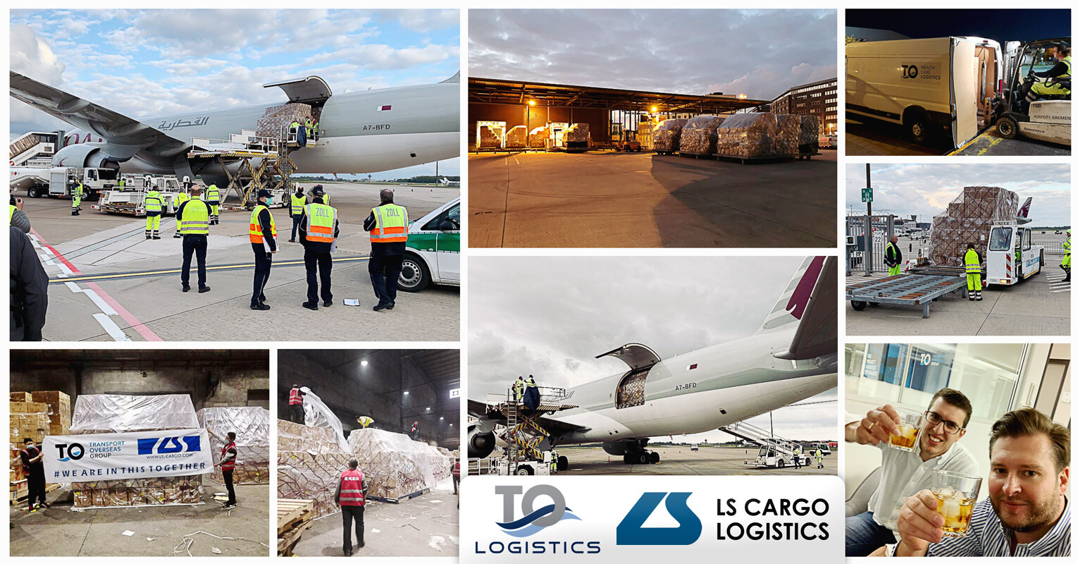 Urgent Air Charter Completed by Transport Overseas and LS Cargo from Shanghai to Bremen