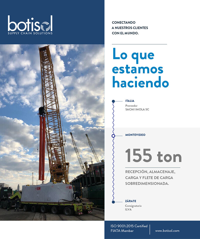 Botisol Completes a Project from Italy to Argentina