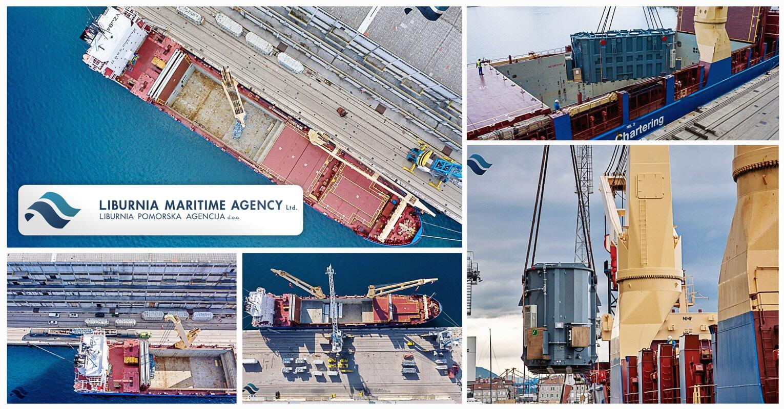 Liburnia Loaded 7000 Freight Tons in Port of Rijeka on BBC Vesuvius for Four Discharging Ports in the Middle East
