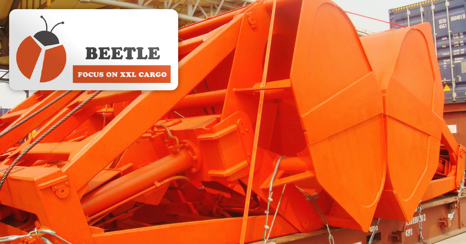 Shanghai Beetle Shipped a Grab Bucket from Shanghai to Puerto Cabello