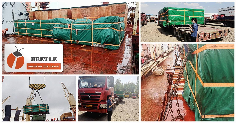Shanghai Beetle Handled a Multi-modal Breakbulk and OOG Shipment from Henan to Shanghai for Destination Mumbai