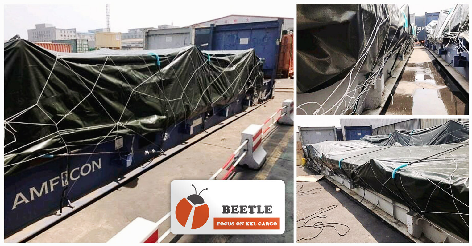 Shanghai Beetle Shipped OOG from Tianjin to Jebel Ali