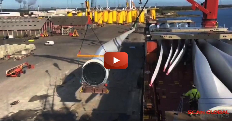Video - Scan Global Logistics Handling Wind Turbines