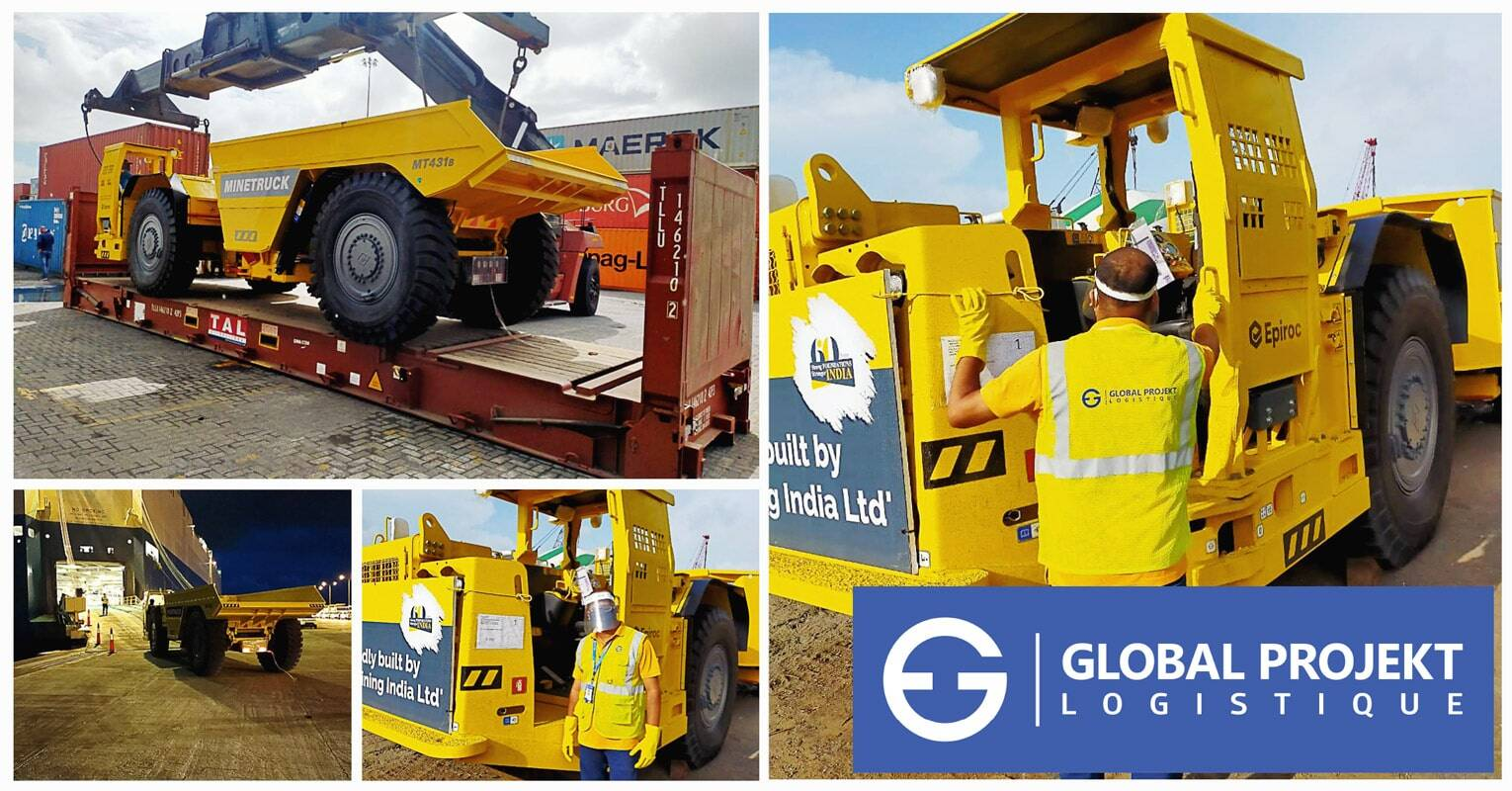 Global Projekt Logistique Delivers Another Time Critical Shipment of Mining Equipment to the DRC