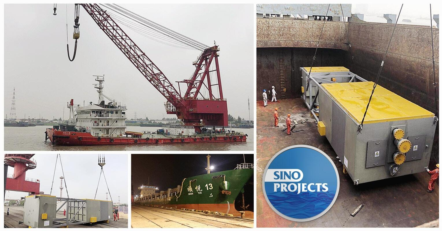 Sino Projects Loaded Another Cold Box in Shanghai Destined for South Korea