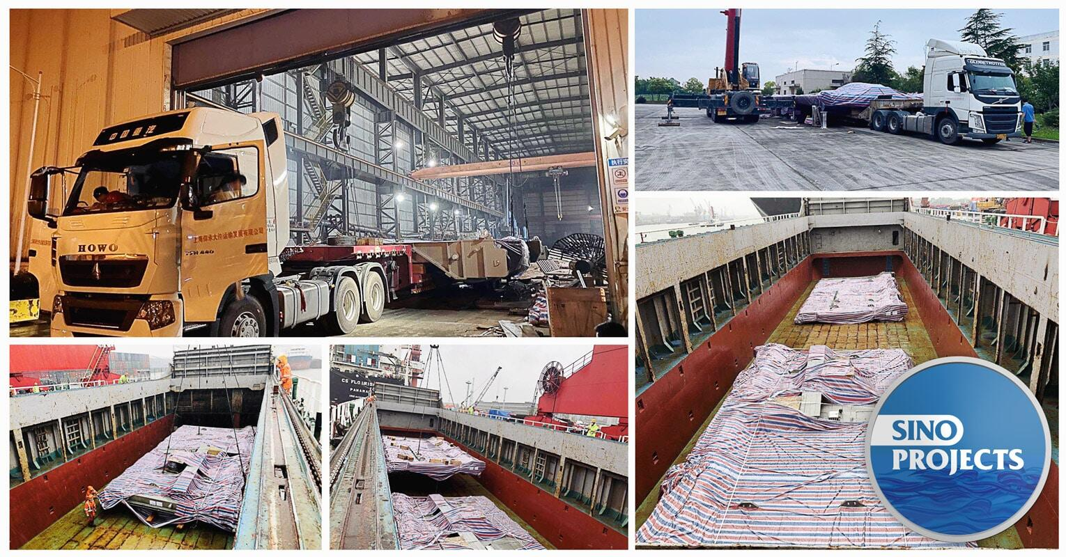 Sino Projects Loaded Units as Wide as 7.5m from China to Russia