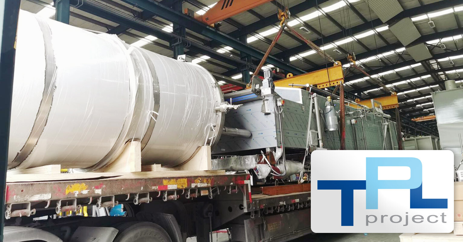 TPL Project Handled High Value Oversized Equipment from Nanjing to Deyang, Sichuan for the Pepsi Plant