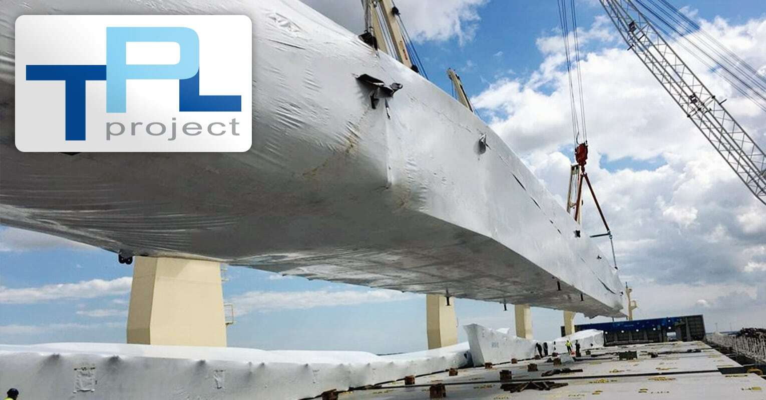 TPL Project Handled the Ocean Shipping of this Breakbulk Cargo from Denmark to China
