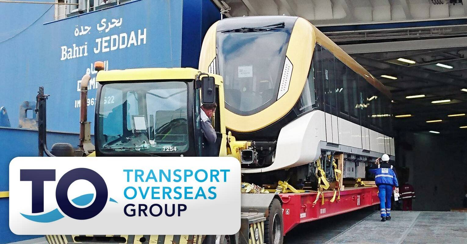 Transport Overseas Finished a Long-term Project of ~450 Metro Cars from Germany to Saudi Arabia for the New Metro in Riyadh