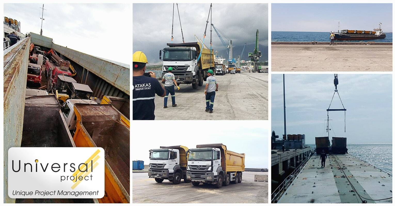 Universal Project Handled Cargo From Arrival, Discharging a Total of 21 Machinese in Under 14 Hours