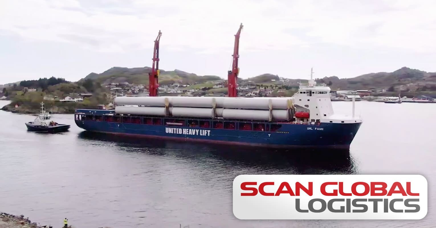 Scan Global Logistics Transported Renewable Energy Project Cargo by Heavylift Vessel and Barge