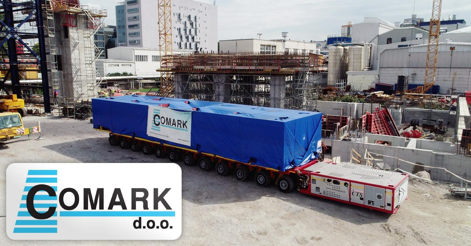 Comark Performed the Transport and Positioning of 8 x 165-ton Modules from Rijeka Port to Site via Comark's Own Depot and Warehouse