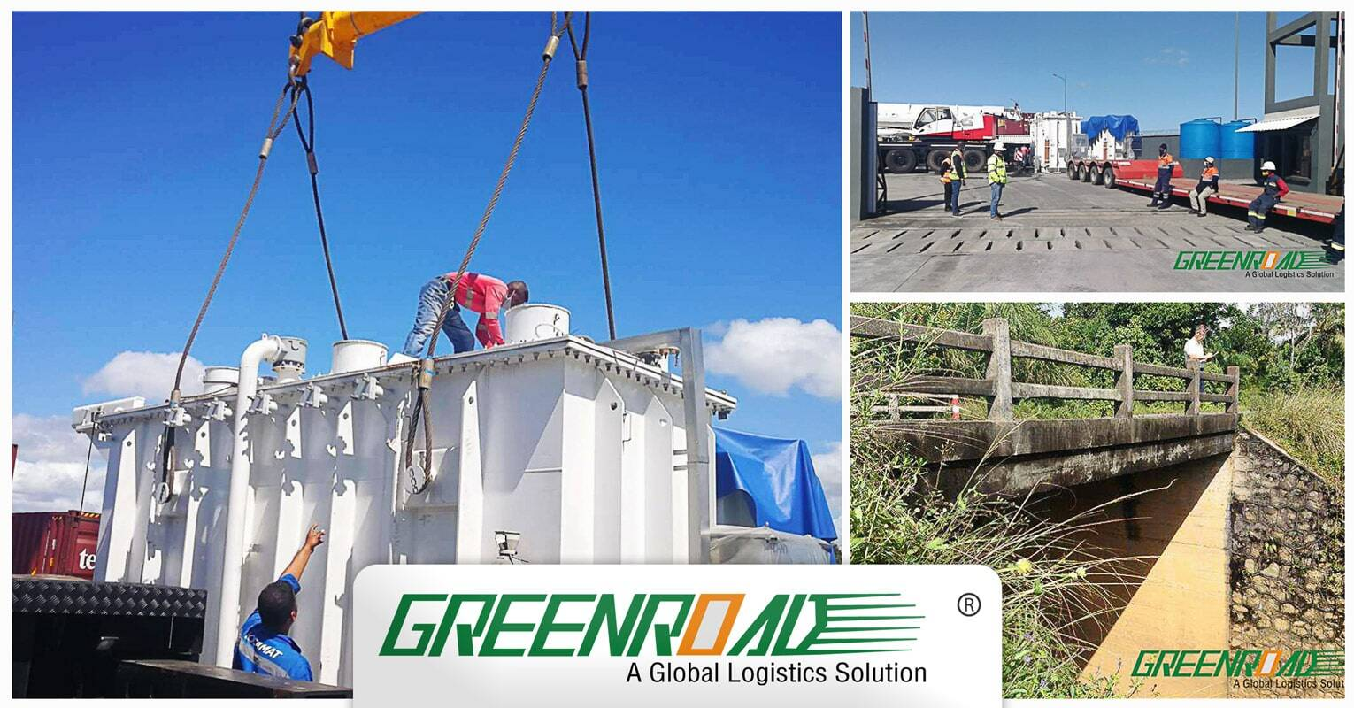 Greenroad Handled Transformers from Shanghai, China to Tamatave, Madagascar
