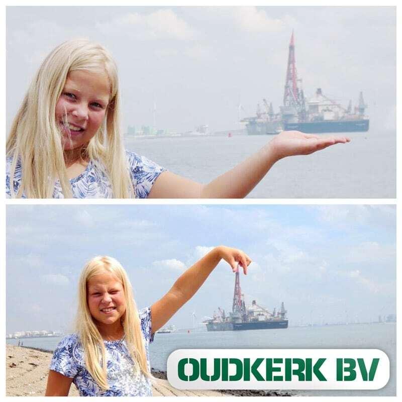 Oudkerk B.V. Visiting the Pioneering Spirit