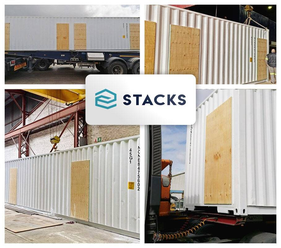 STACKS South Africa Transported Modified Containers Helping to Fight the Spread of COVID-19