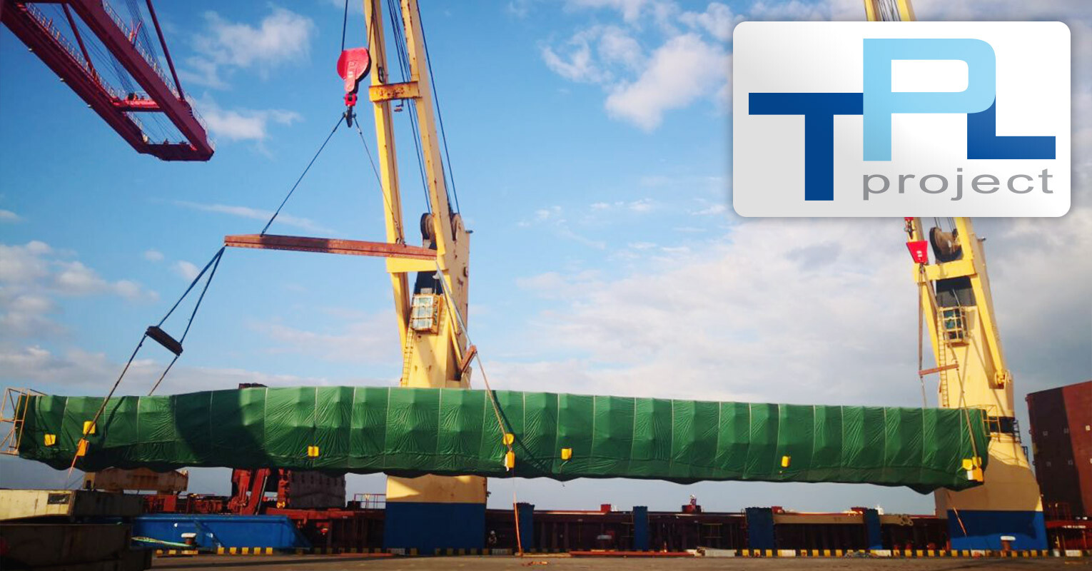 TPL Project Shipped 23 pcs of Blade Moulds to Mexico Under FAS Terms from Taicang Port, China