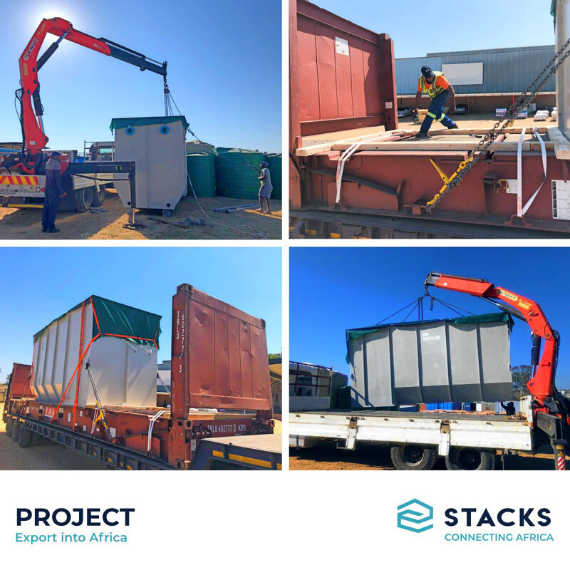 STACKS South Africa's Latest Project Movement to a Mine in West Africa