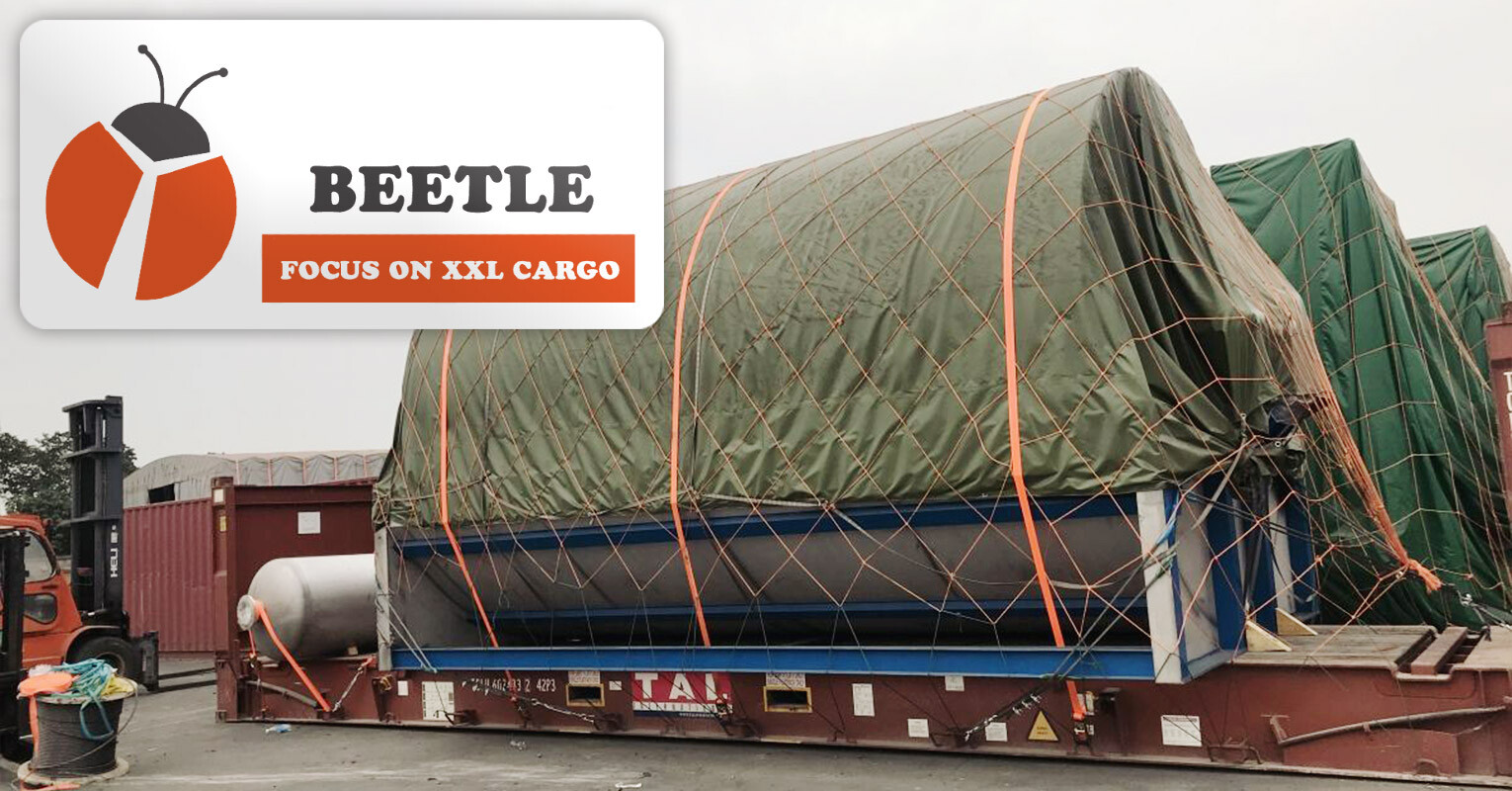 Shanghai Beetle Handled OOG Cargo from Shanghai, China to Semarang, Indonesia