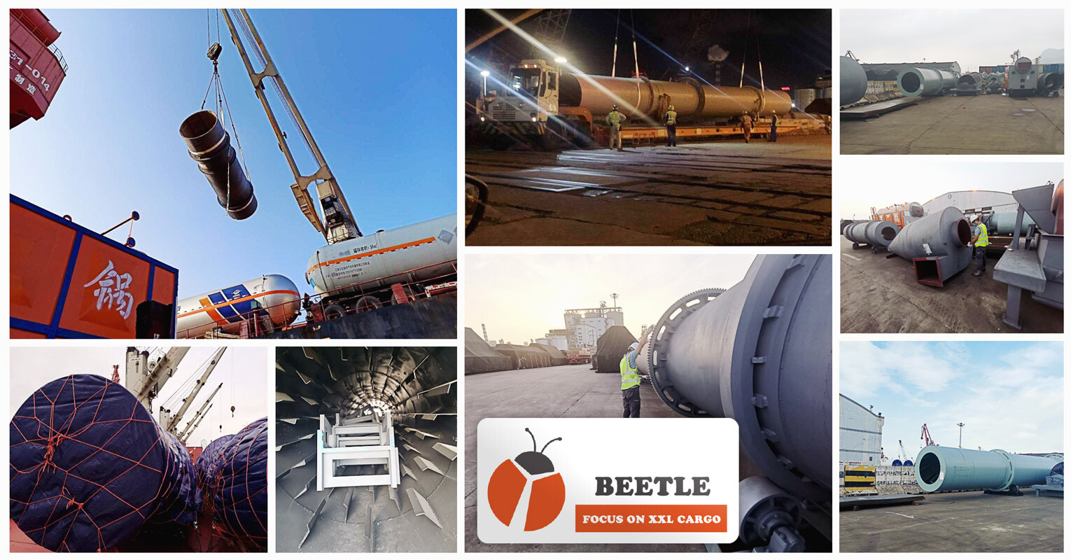 Shanghai Beetle Handled a Breakbulk Shipment from Lianyungang, China to Lagos, Nigeria