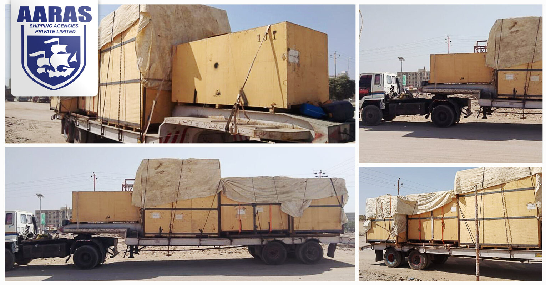 AARAS Moving Break Bulk Cargo to Afghanistan