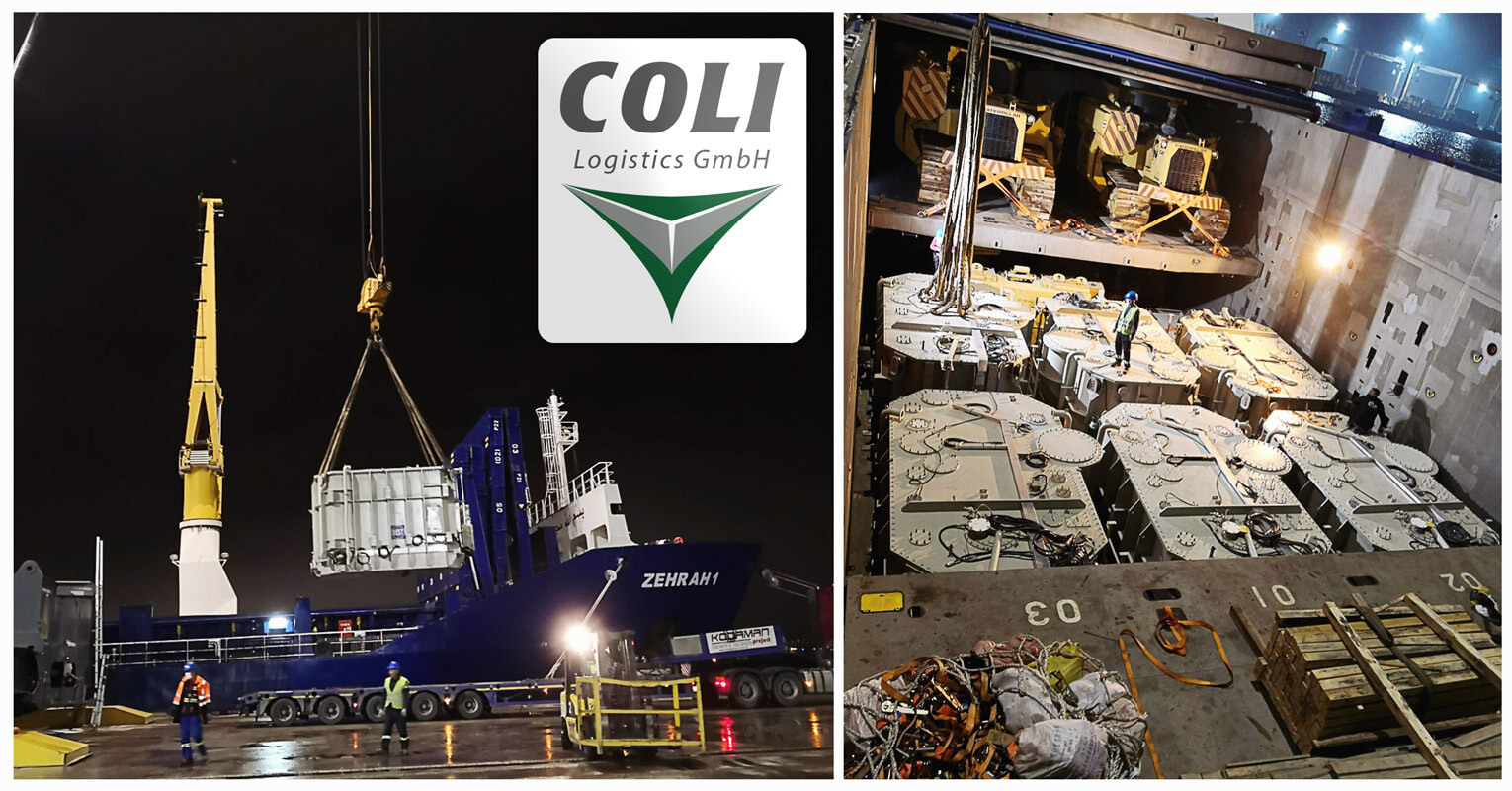 Coli Project Cargo Istanbul Transported 6 Sets of Transformers to Umm Qasr