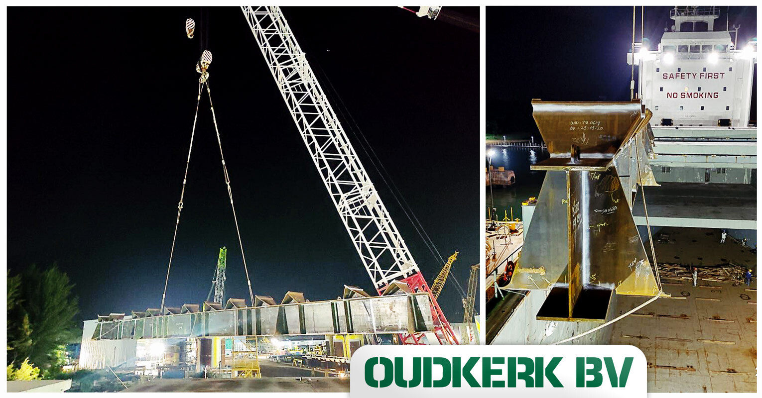 Oudkerk Successfully Executed the 2nd Shipment ex Bintan to Keelung