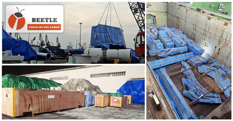 Shanghai Beetle Handled a Breakbulk Shipment from Shanghai to Baltimore