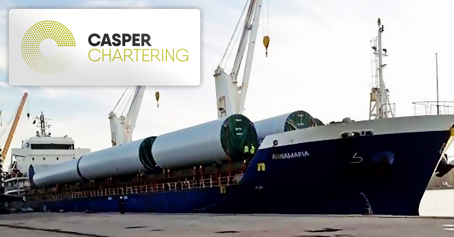 Casper Chartering's Latest Fixture of Windmill Equipment