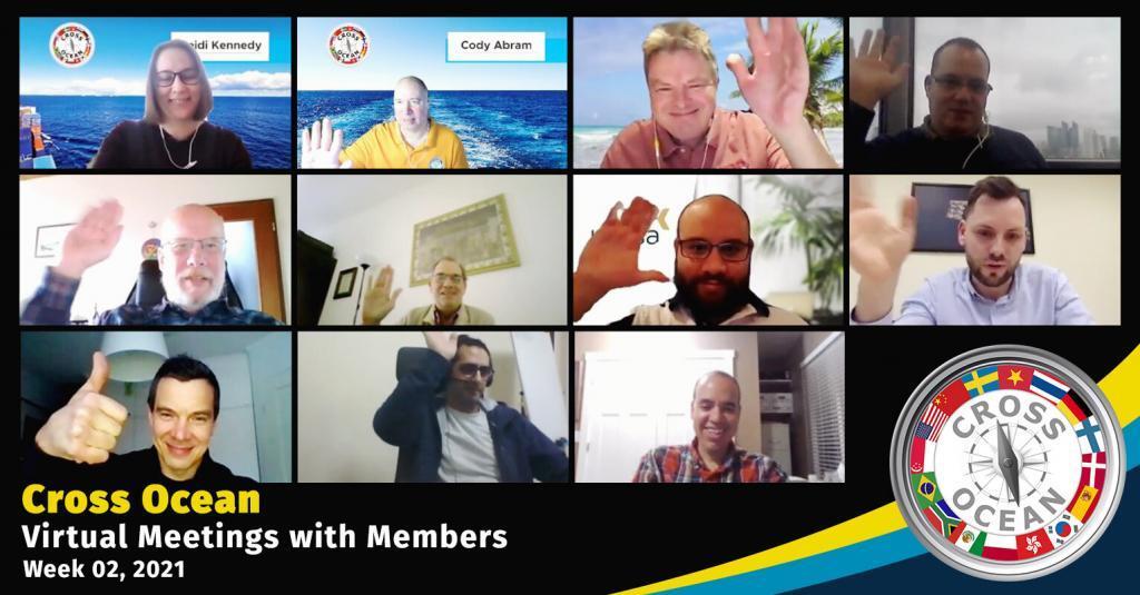 Cross Ocean Meeting Network