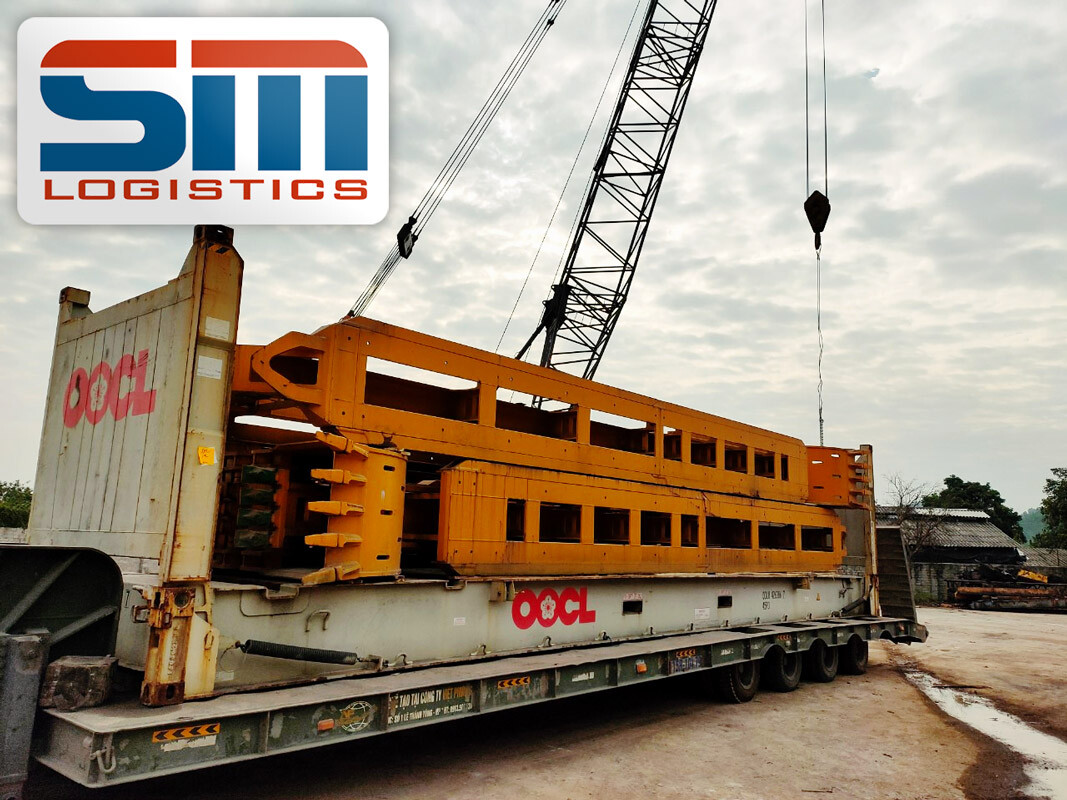 SM Project Handled OOG Cargo Early in the Morning on the Last Day of 2020
