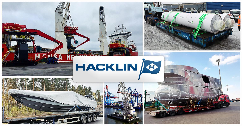 New member representing Finland – Oy Hacklin Logistics