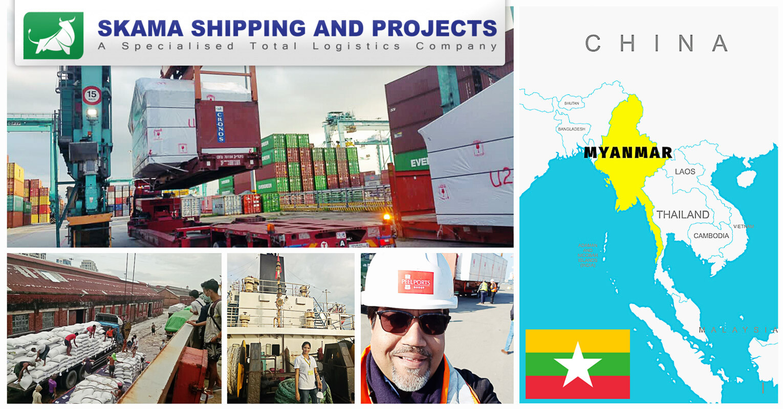 New member representing Myanmar – Skama Shipping and Projects