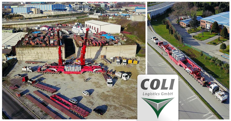 Coli Istanbul Transported a 236 ton Transformer to Romania