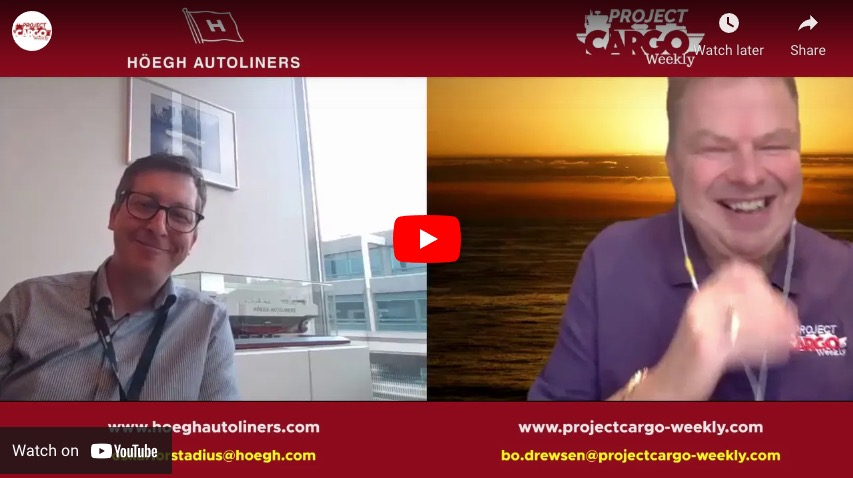 Hoegh Autoliners Interviewed by PCW