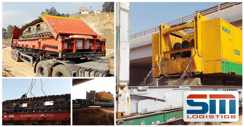 SM Project Vietnam Handling a Temporary Export and Re-import Shipment of a Kobelco 250 ton Crane
